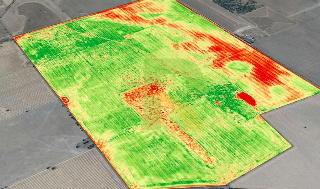 formación en agricultura de precisión con drones