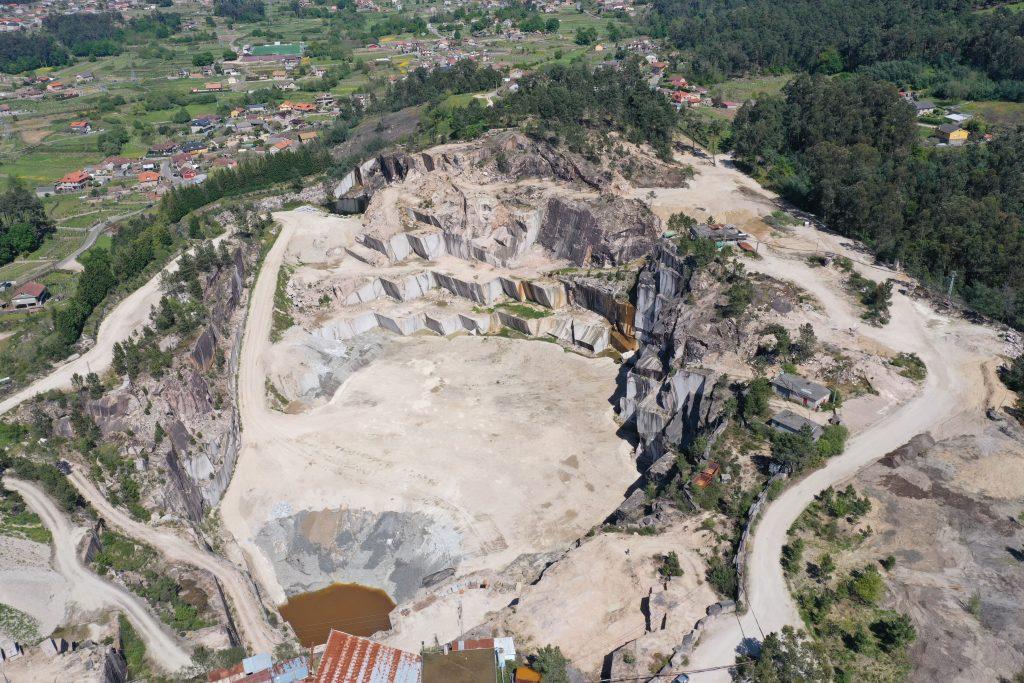 topografía aérea con drone, fotogrametría, minería