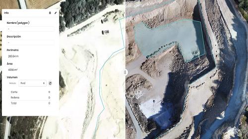 topografía aérea con drones